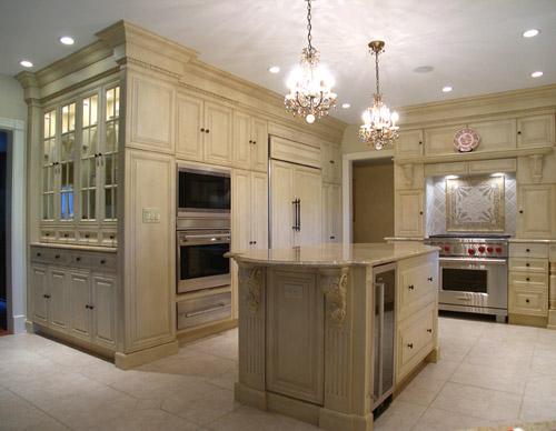 luxury kitchen, formal kitchen